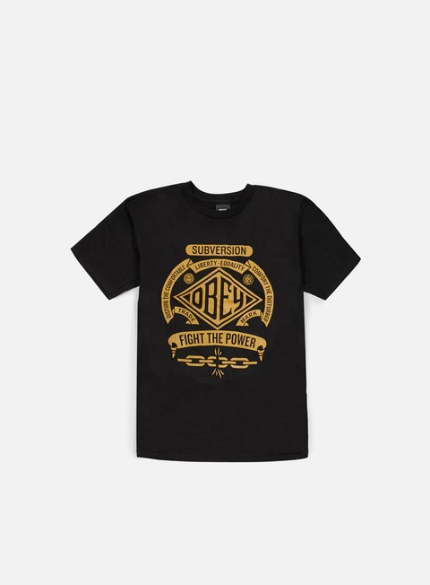 Short Sleeve T-shirts Obey Disturb The Comfortable T-shirt