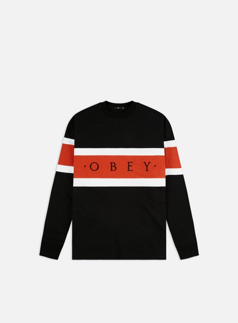 Outlet e Saldi T-shirt a manica lunga Obey Embrace Classic LS T-shirt