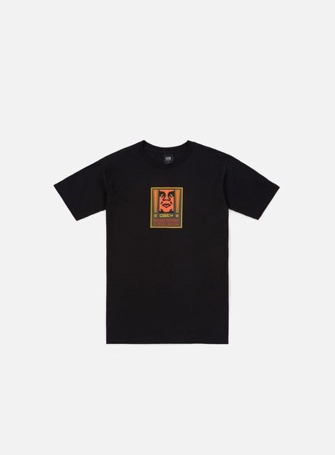 Sale Outlet Short Sleeve T-shirts Obey Exclamation Basic T-shirt