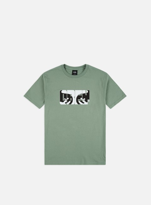 Outlet e Saldi T-shirt a Manica Corta Obey Eyes Of Obey Basic T-shirt