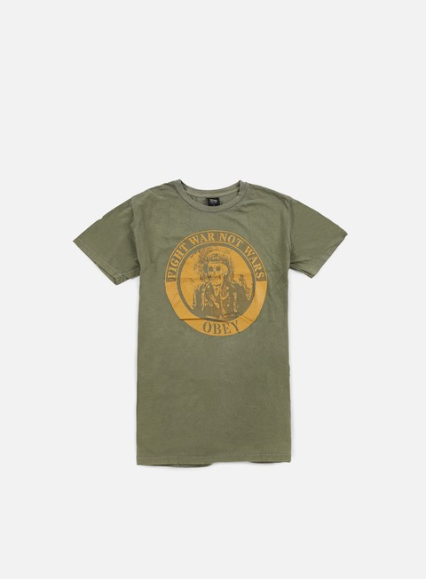 t shirt obey fight war pigment t shirt dark olive