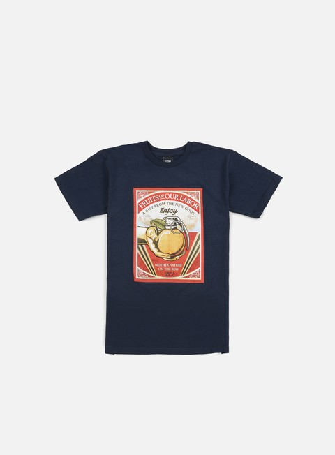 t shirt obey fruits of our labor t shirt navy