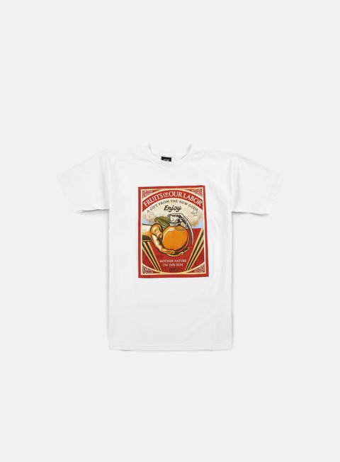 Short Sleeve T-shirts Obey Fruits Of Our Labor T-shirt