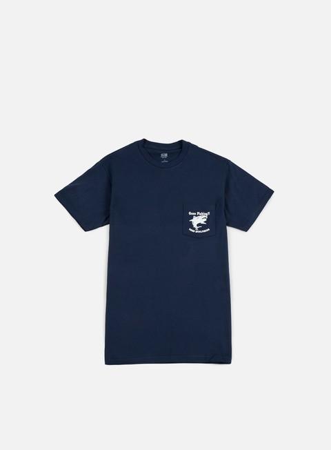 Obey Gone Fishing Pocket T-shirt