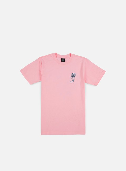 t shirt obey grown wild t shirt pink