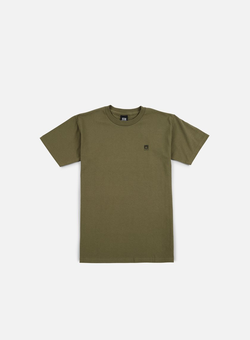 Obey - Half Face Military Special T-shirt, Dark Olive