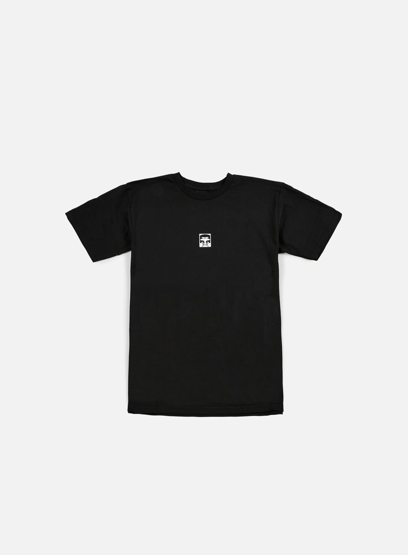 Obey - Half Face T-shirt, Black