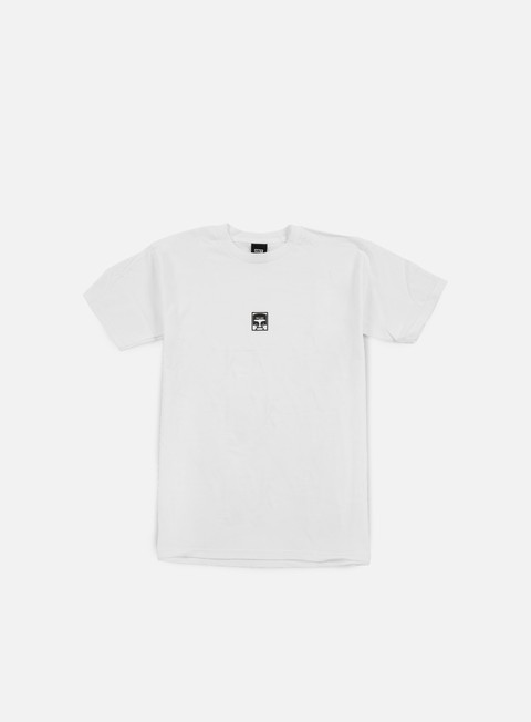 Sale Outlet Short Sleeve T-shirts Obey Half Face T-shirt