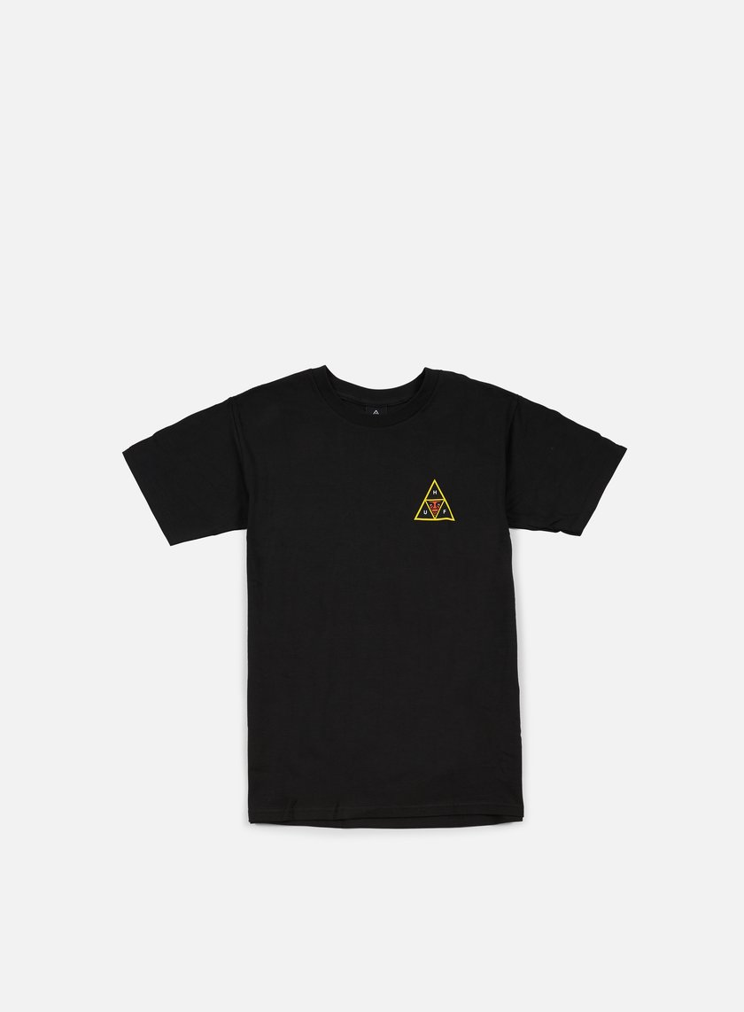 Obey - Huf Icon Face T-shirt, Black