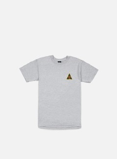 Obey - Huf Icon Face T-shirt, Heather Grey 1