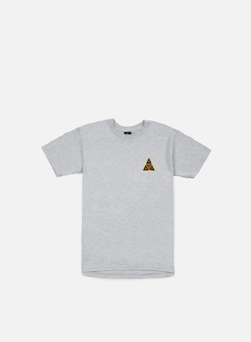Obey - Huf Icon Face T-shirt, Heather Grey