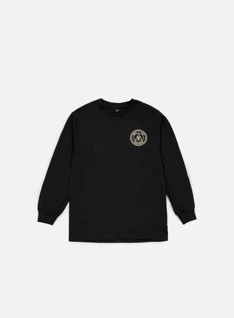 Long Sleeve T-shirts Obey Huf Rat Race LS T-shirt