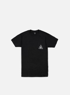 Obey - Huf Triple Triangle T-shirt, Black 1