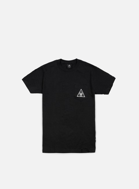 t shirt obey huf triple triangle t shirt black
