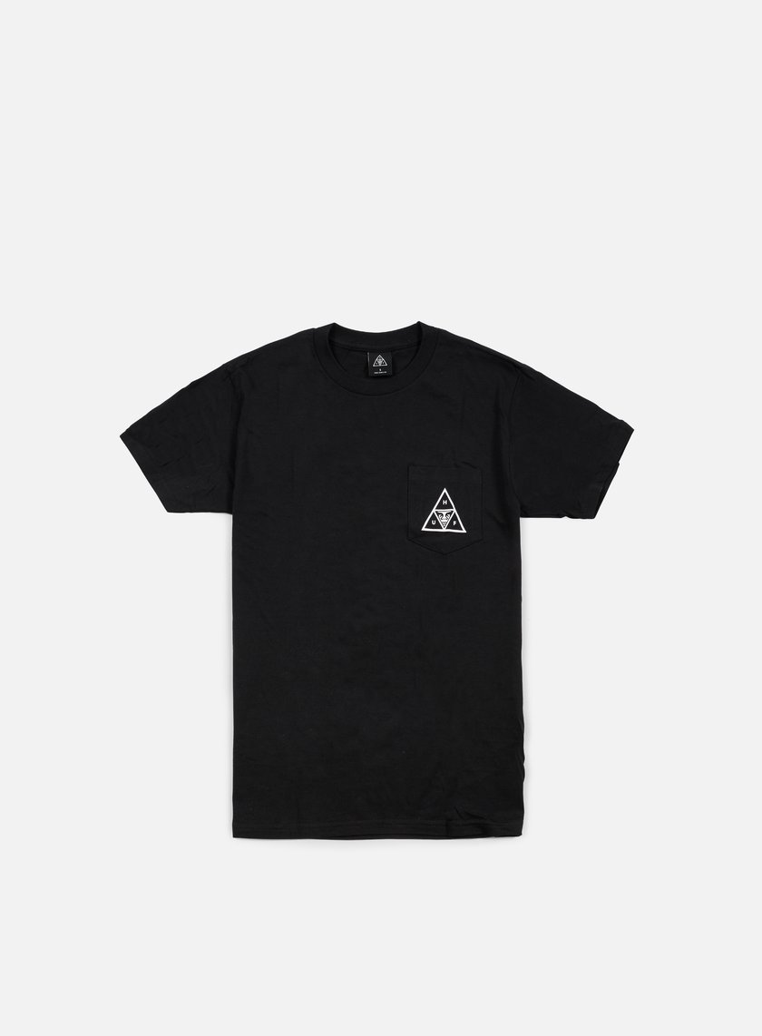 Obey - Huf Triple Triangle T-shirt, Black