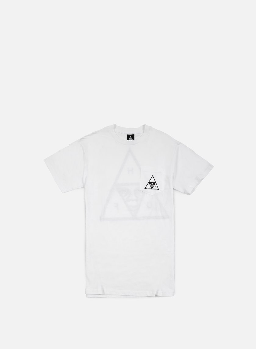 Obey - Huf Triple Triangle T-shirt, White