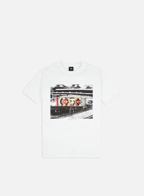 Outlet e Saldi T-shirt a Manica Corta Obey Ideal Power Vienna Basic T-shirt