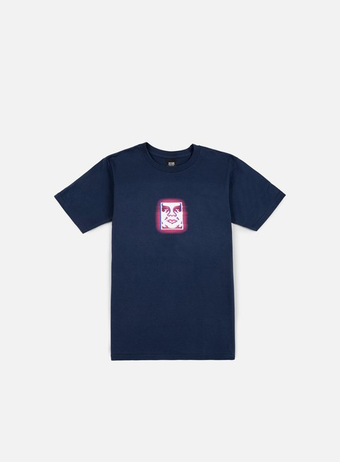t shirt obey immersion t shirt navy