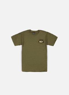 Obey - Imperial Glory Eagle T-shirt, Military Green 1