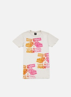 Obey - Jamie Reid Bright Future T-shirt, Fog 1
