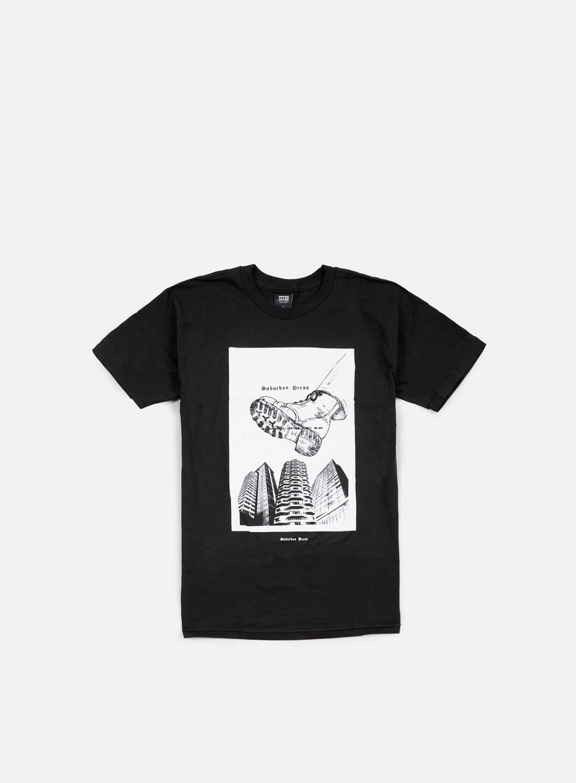 Obey - Jamie Reid Suburban Boot BSC T-shirt, Black