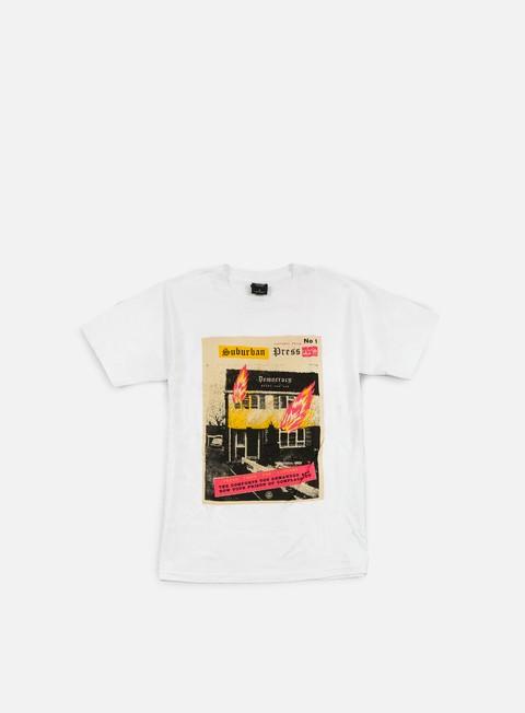 Short Sleeve T-shirts Obey Jamie Reid Suburban Fire T-shirt