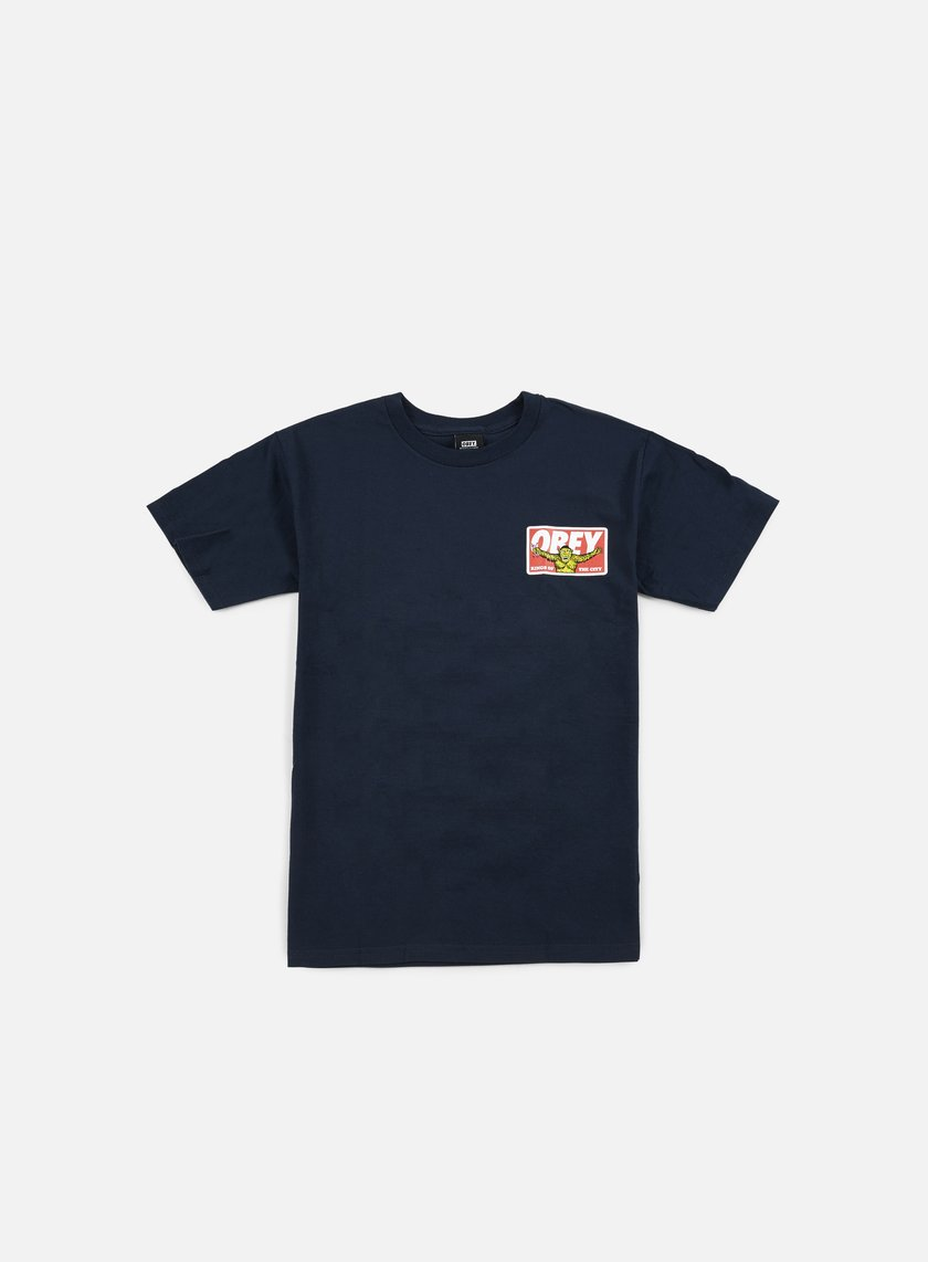 Obey - Kings Of The City T-shirt, Navy