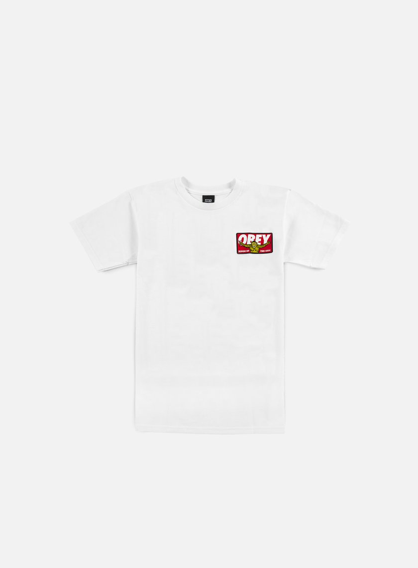 Obey - Kings Of The City T-shirt, White