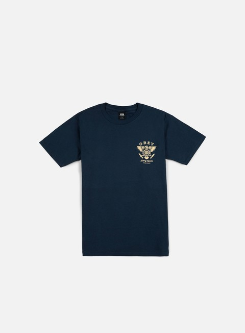 t shirt obey liberty e justice t shirt navy