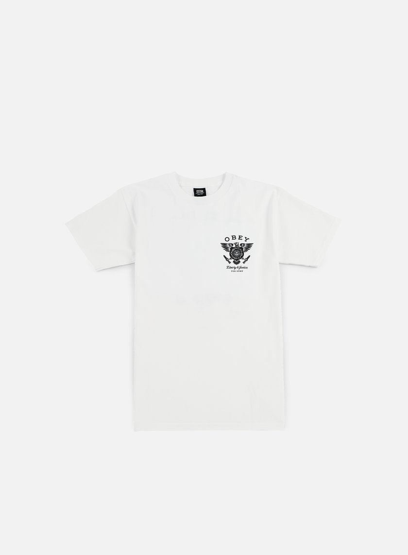 Obey - Liberty & Justice T-shirt, White