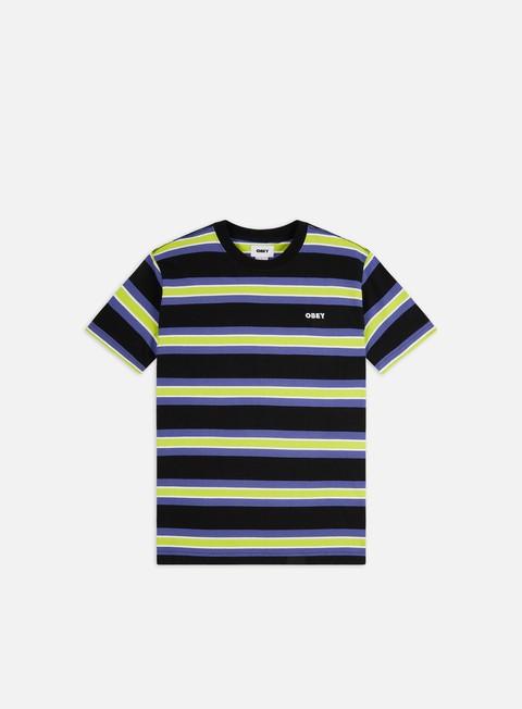 Outlet e Saldi T-shirt a Manica Corta Obey Logan T-shirt