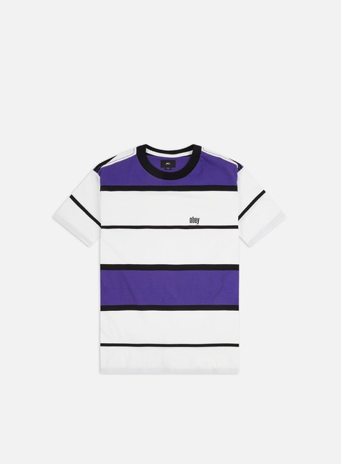 T-shirt a righe Obey Mercy T-shirt