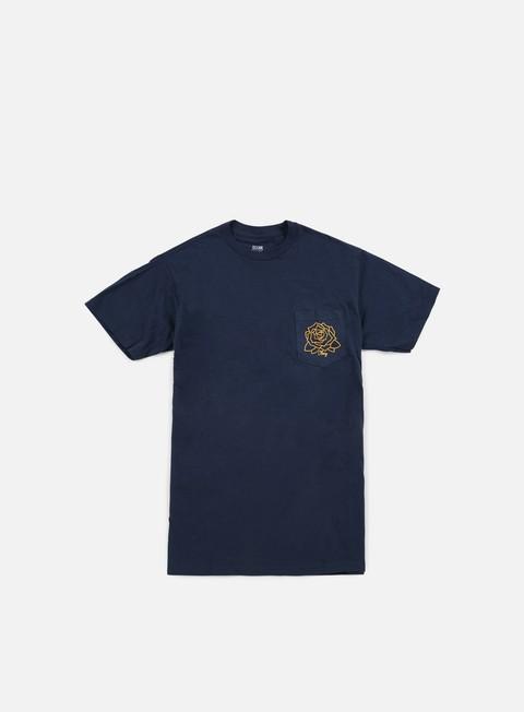 Outlet e Saldi T-shirt a Manica Corta Obey Mira Rosa Premium Pocket T-shirt