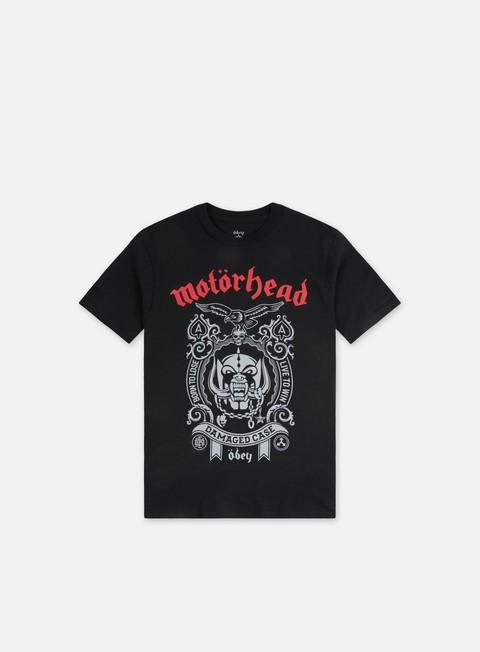T-shirt a manica corta Obey Motorhead Damaged Case T-shirt