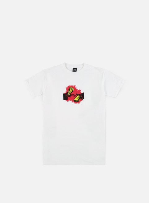 Sale Outlet Short sleeve T-shirts Obey No Cuffs T-shirt