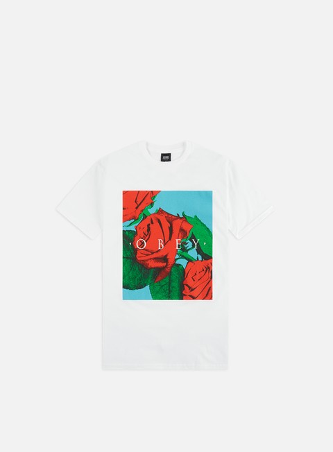 T-shirt a Manica Corta Obey No Love Lost Basic T-shirt