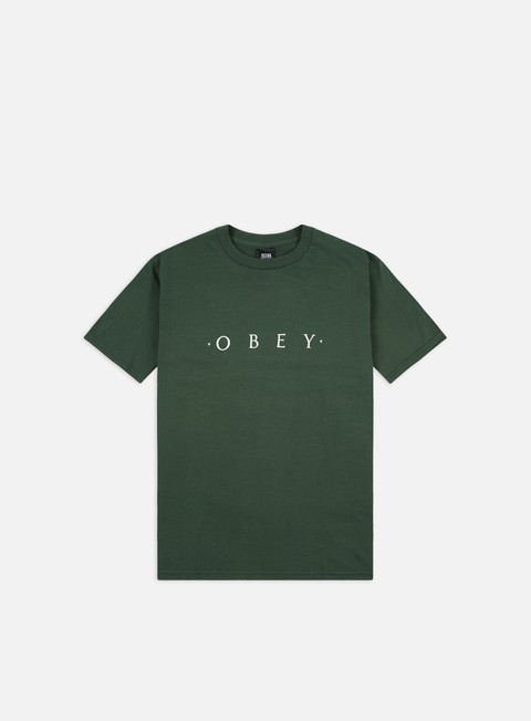 T-shirt a Manica Corta Obey Novel Obey Basic T-shirt