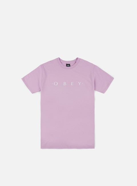 t shirt obey novel obey t shirt lavender