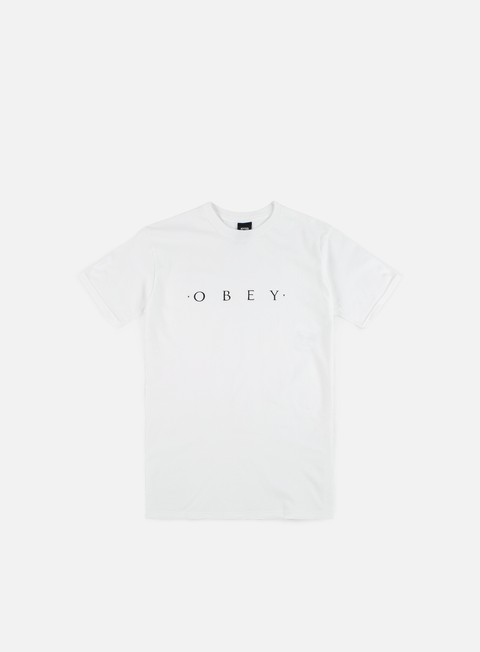 t shirt obey novel obey t shirt white
