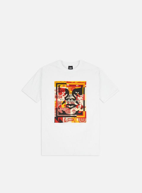 T-shirt a Manica Corta Obey Obey 3 Face Collage Basic T-shirt