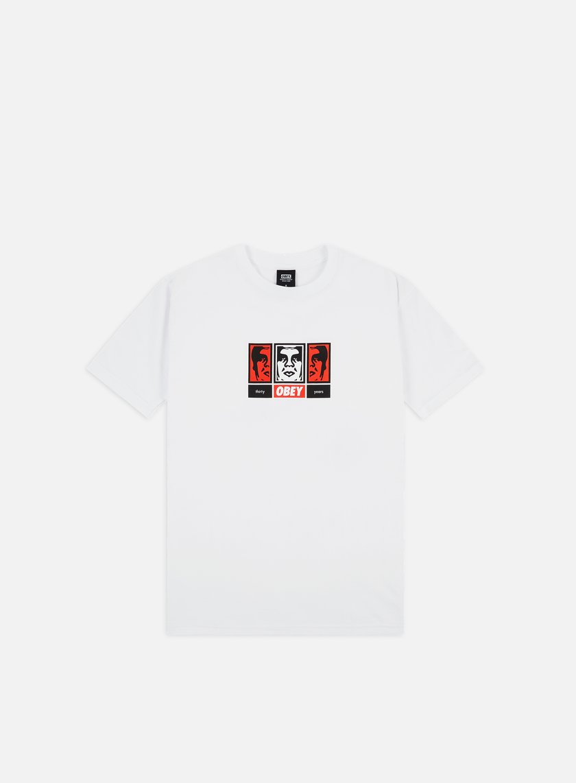 Obey Obey 3 Faces 30 Years Basic T-shirt