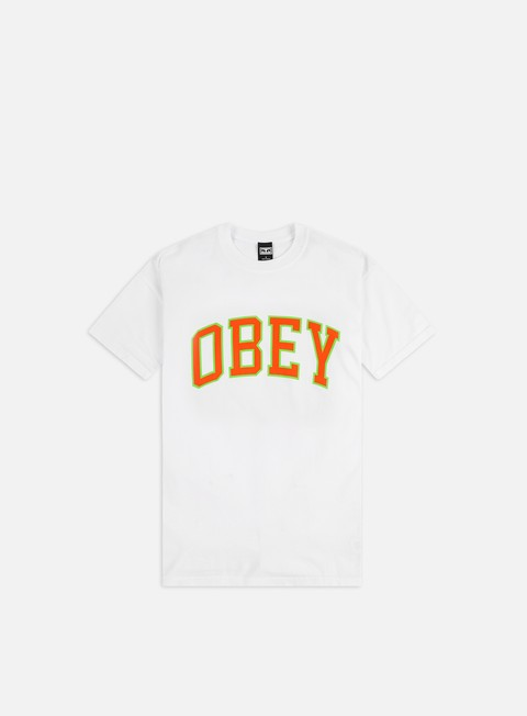 Short Sleeve T-shirts Obey Obey Academic 3 Heavyweight T-shirt