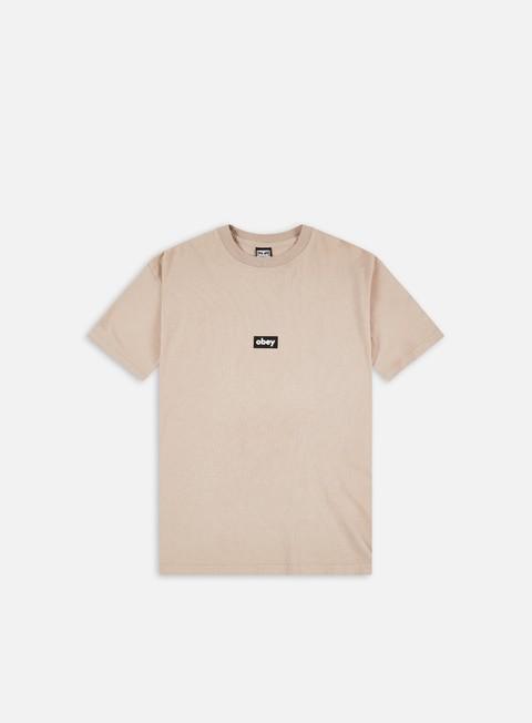 Obey Obey Black Bar Heavyweight T-shirt