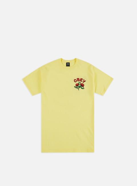 Outlet e Saldi T-shirt a Manica Corta Obey Obey Briar Basic T-shirt