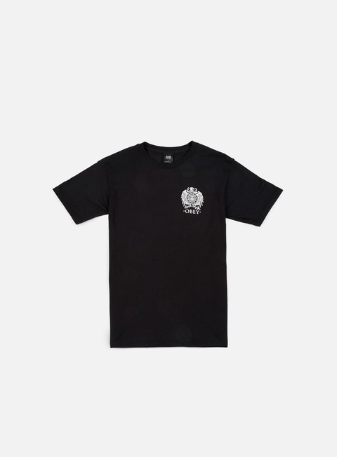 t shirt obey obey broken eagle t shirt black
