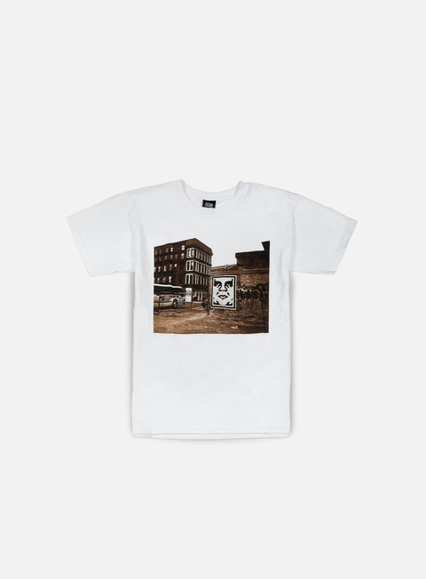 Sale Outlet Short Sleeve T-shirts Obey Obey Bus Photo T-shirt
