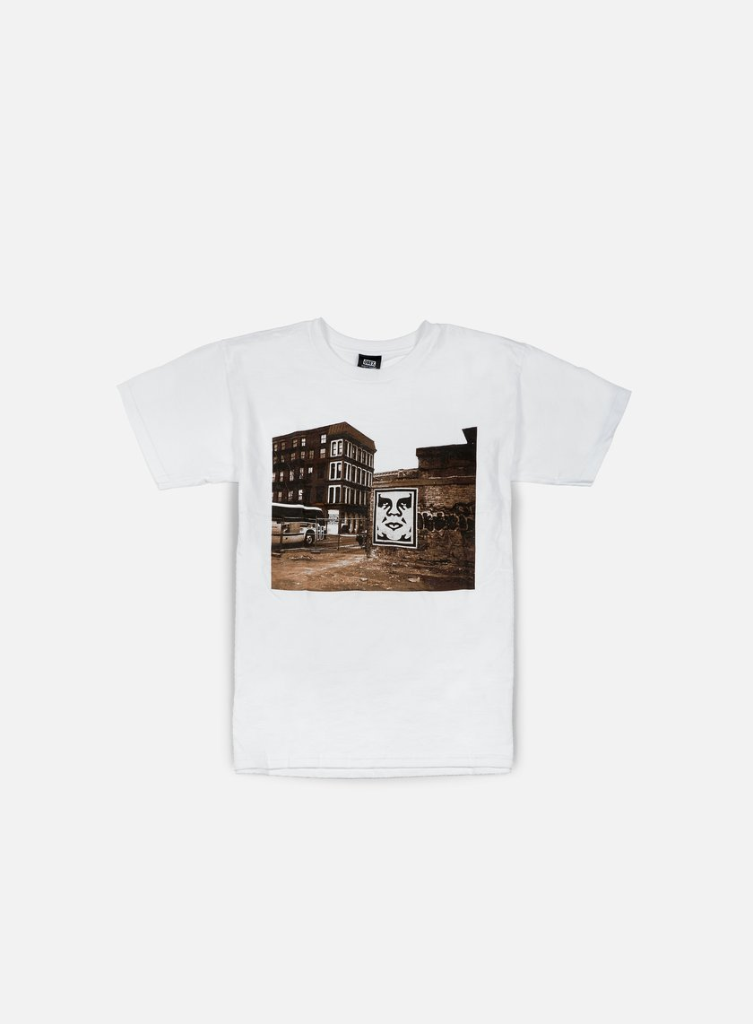Obey - Obey Bus Photo T-shirt, White