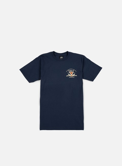 t shirt obey obey conformity resistance t shirt navy