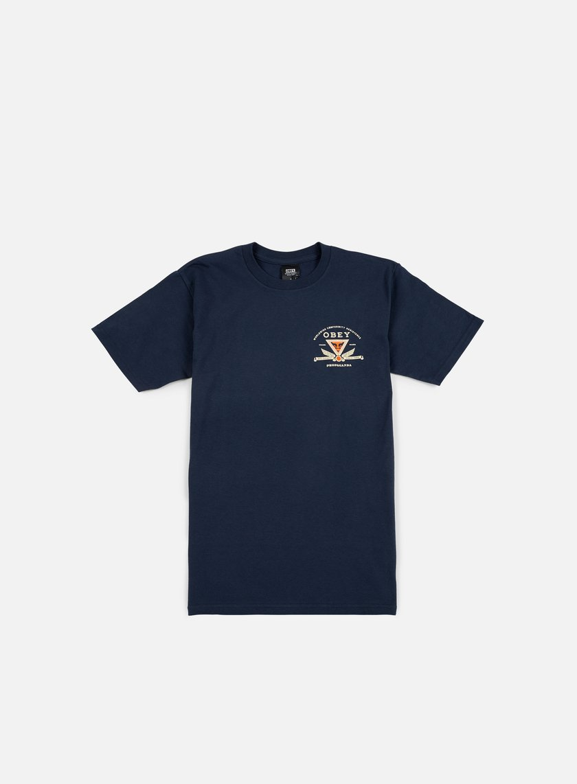 Obey - Obey Conformity Resistance T-shirt, Navy