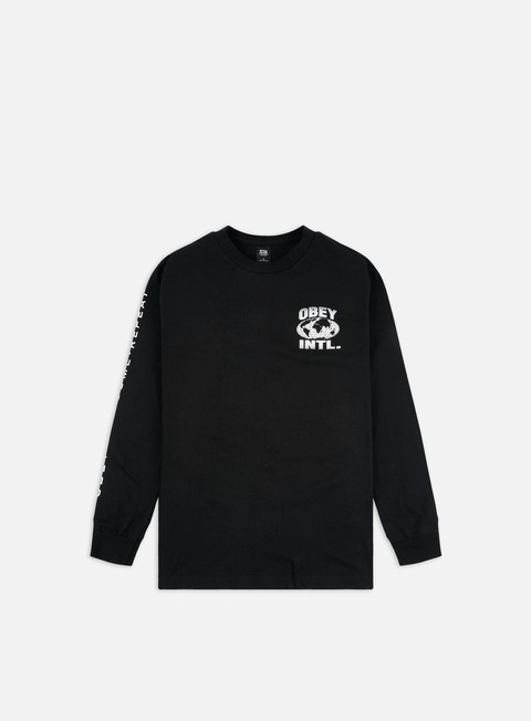 Obey Obey Consume Repeat Intl. Basic LS T-shirt